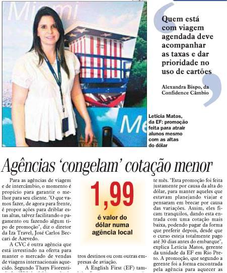 Promoção da EF é destaque no Diário da Região