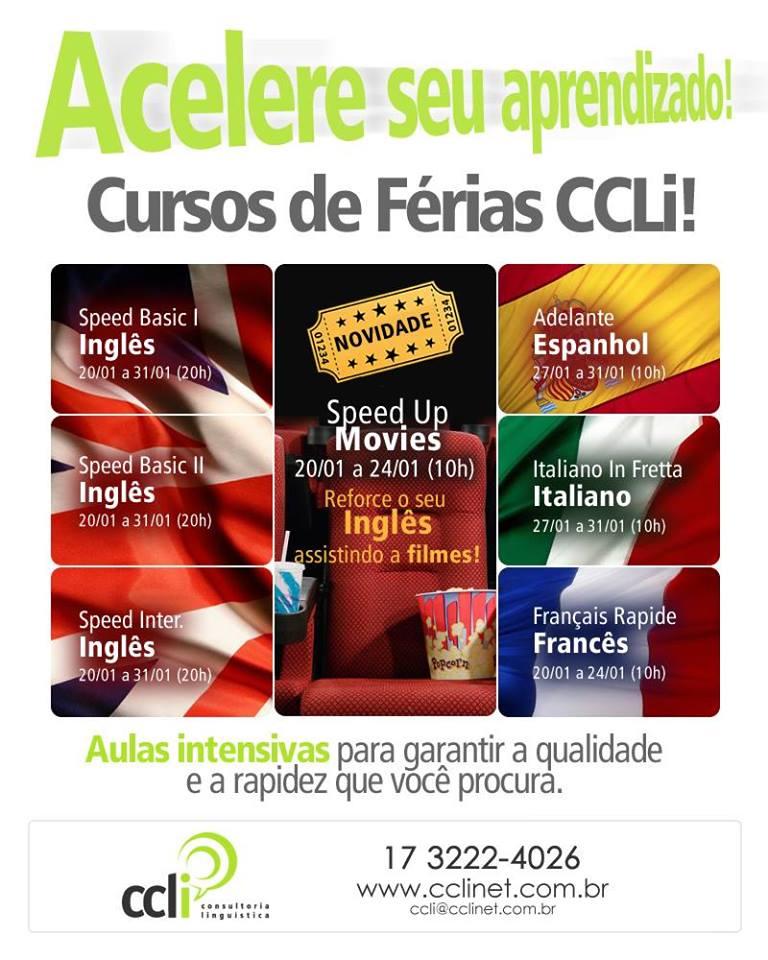 Conheça os benefícios dos cursos intensivos de férias da CCLi
