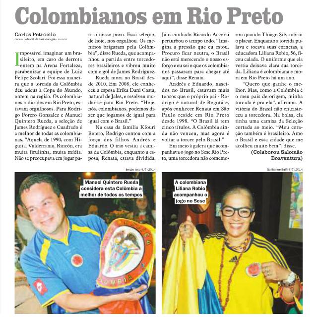 CCLi reúne torcedores brasileiros e colombianos
