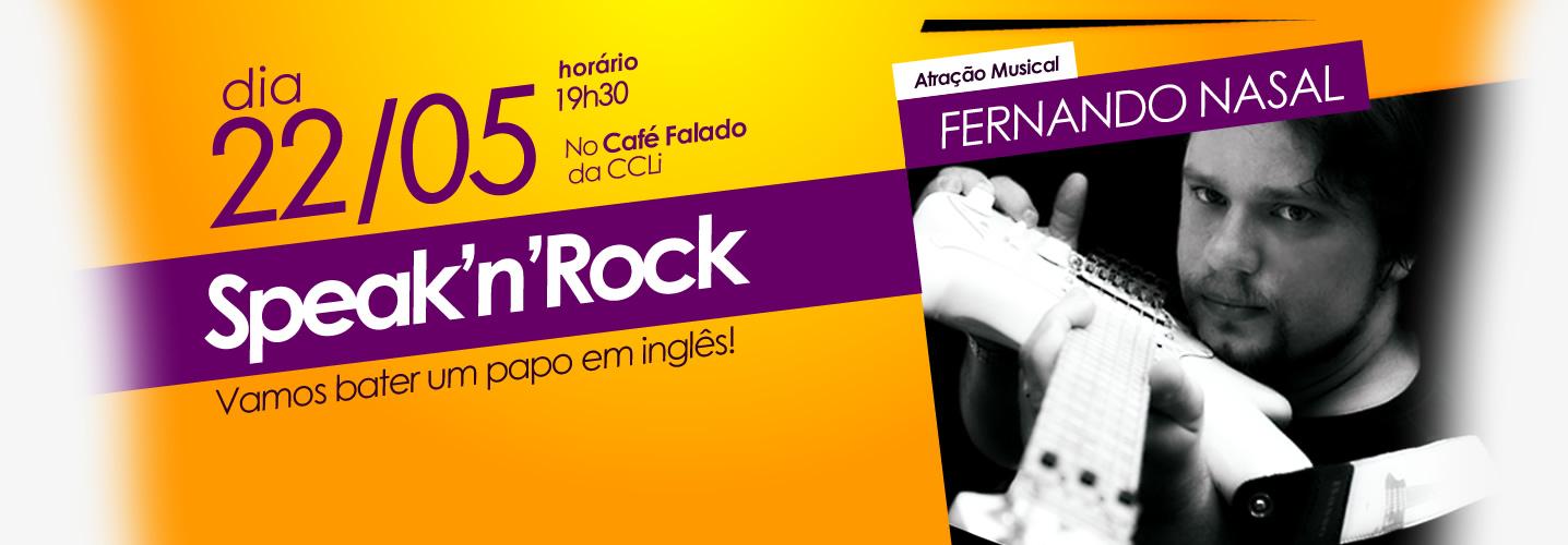 Quer ouvir um bom rock e praticar a língua inglesa?